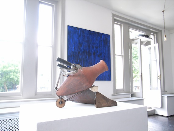 Exhibition view of 'An Excavation of Senses' at Brocket Gallery, 5-12 July 2014